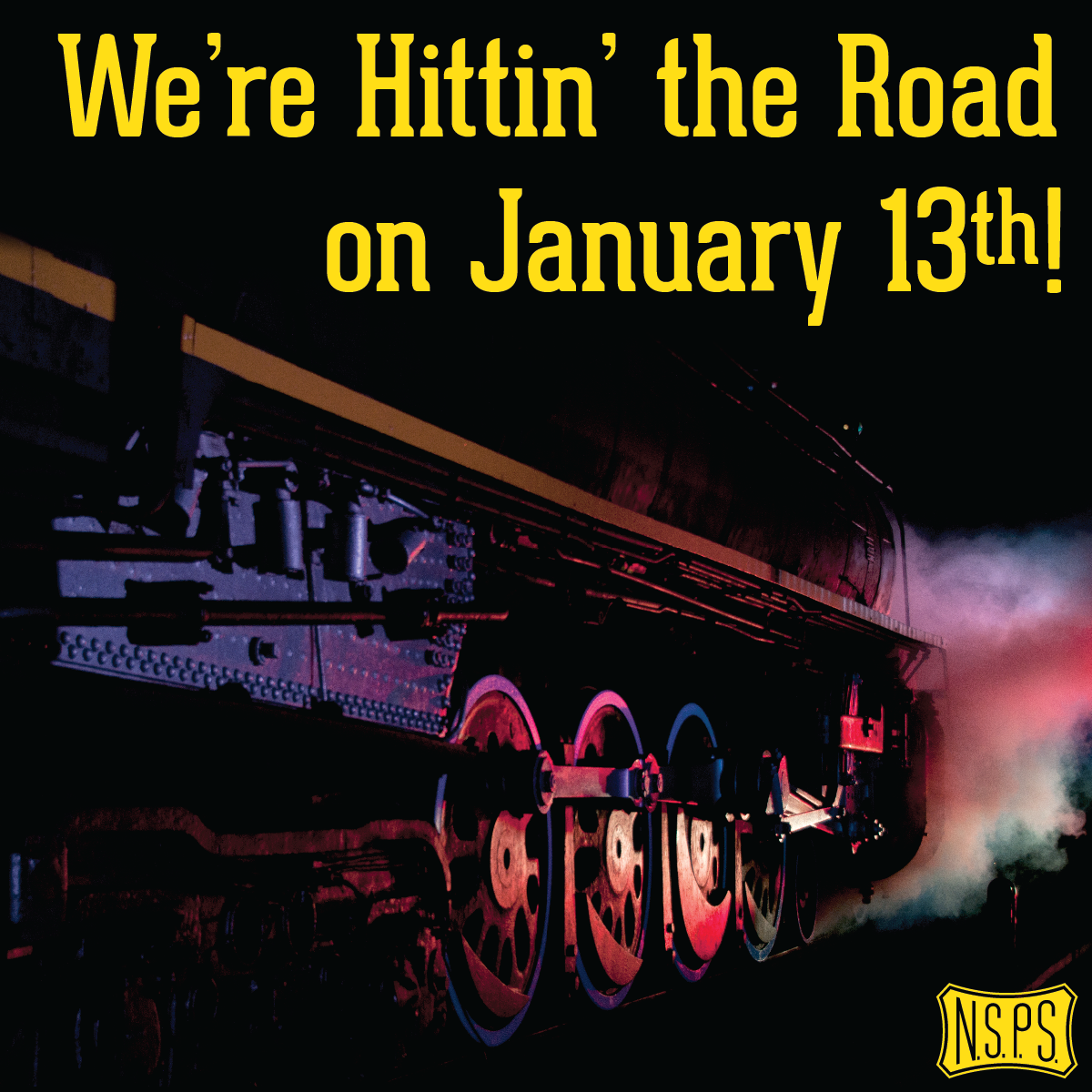 No. 576 to Leave Centennial Park on January 13th!