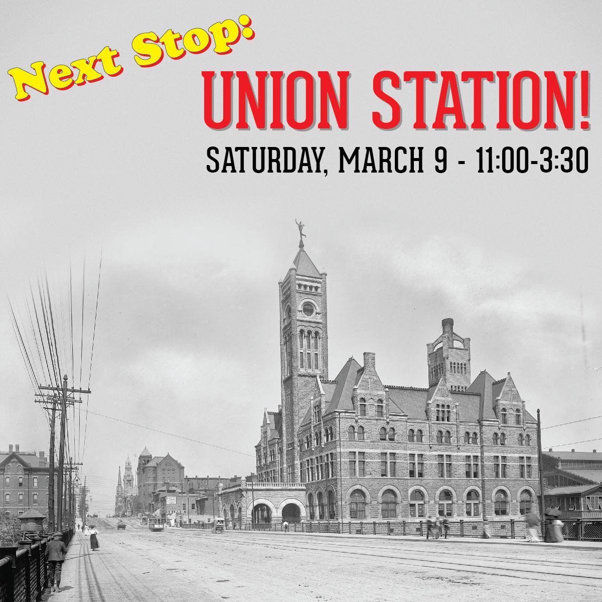 Next Stop: Union Station!