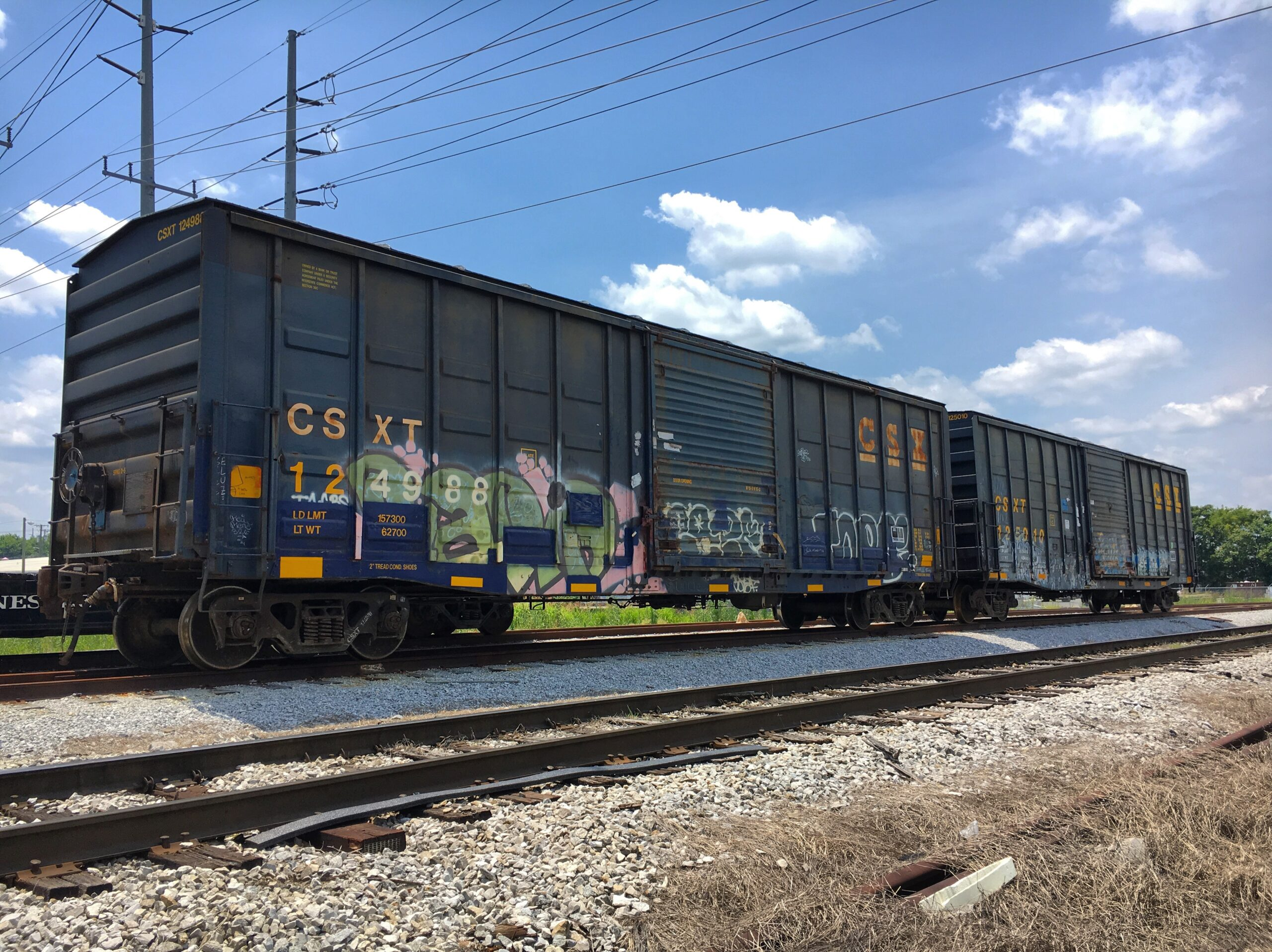 CSX Donates Two Boxcars for 576 Restoration